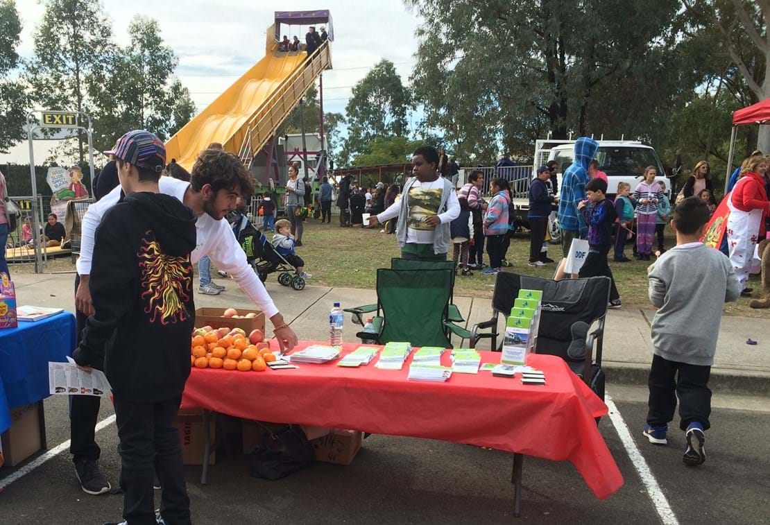 KRMC stall at NAIDOC Day Celebrations, Emerton